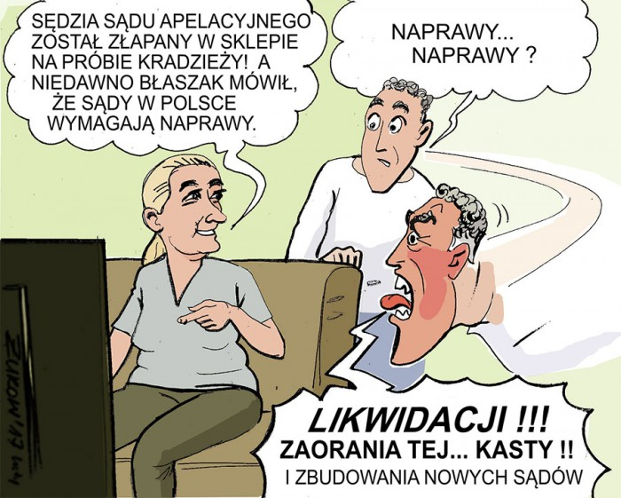 Znalezione obrazy dla zapytania Artur Żukow wolne sądy